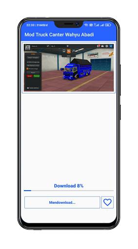 Mod Bussid Truck Wahyu Abadi : 2021 13.0 Screenshots 12