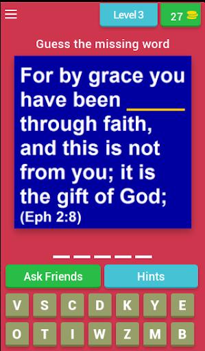 Bible Verse Quiz (Bible Game) apkmr screenshots 3