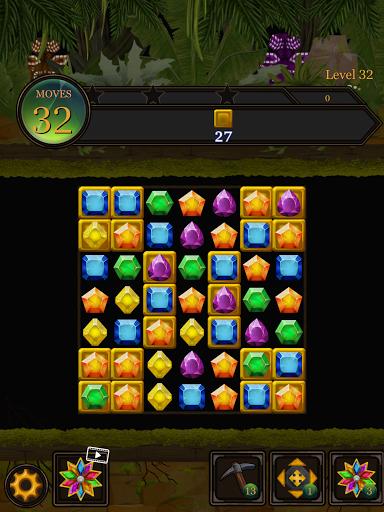 Secret Jungle Pop : Match 3 Jewels Puzzle Apkfinish screenshots 22