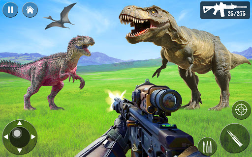 Wild Dino Hunt :Wild Animal Hunting Shooting Games  screenshots 6
