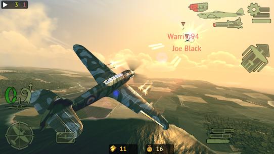 Warplanes: Online Combat Mod Apk 1.3.1 (Unlimited Gold) 1
