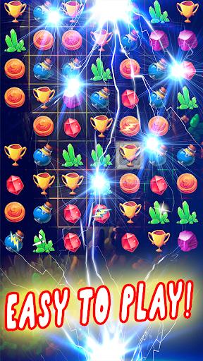 jewels adventure bomb: sweet heroes screenshot 1