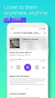earliAudio - Listen to podcasts & audio books