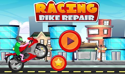 Racing Bike Repair - Bike Wash and Design Salon 1.2 screenshots 1