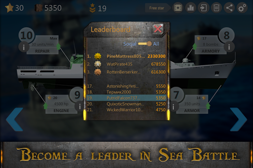 Sea Battle : Submarine Warfare 3.3.2 screenshots 21