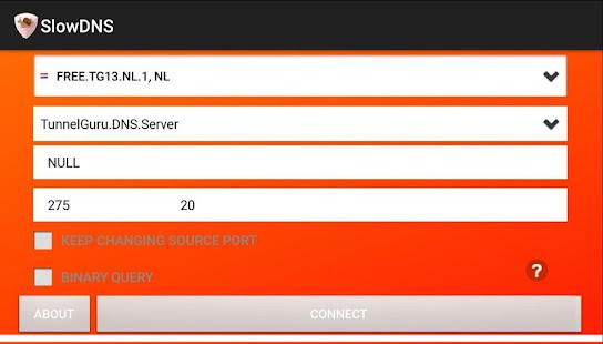 VPN Over DNS  Tunnel : SlowDNS