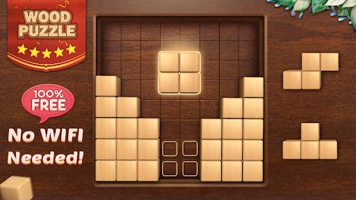 Wood Block Puzzle 3D - Classic Wood Block Puzzle apktram screenshots 9