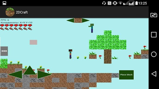 2DCraft: Building and Survival in 2D Online Hack Android & iOS 3