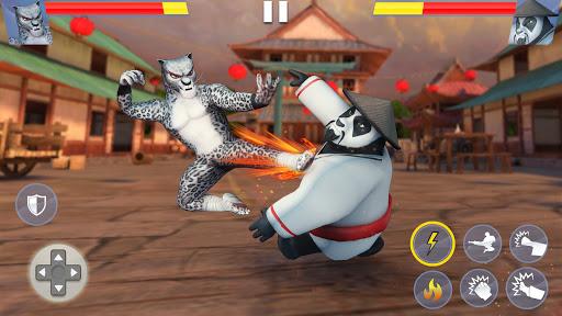 Kung Fu Animal Fighting Games: Wild Karate Fighter apkmartins screenshots 1