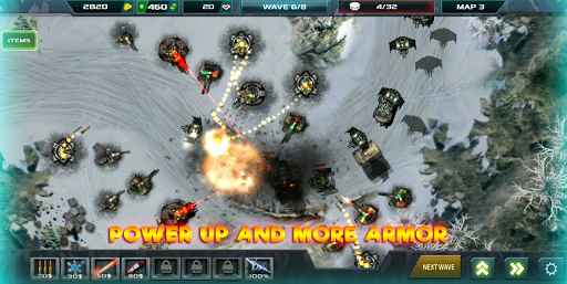 Tower Defense: Infinite War  screenshots 4