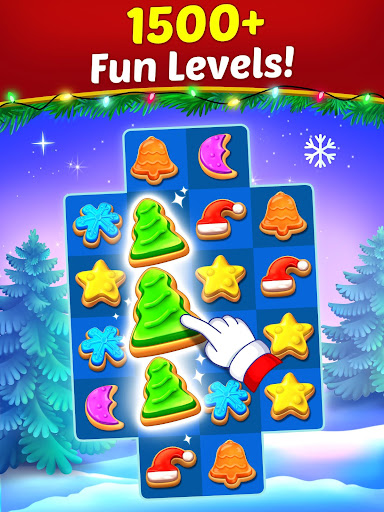 Christmas Cookie - Santa Claus's Match 3 Adventure 3.1.6 screenshots 15