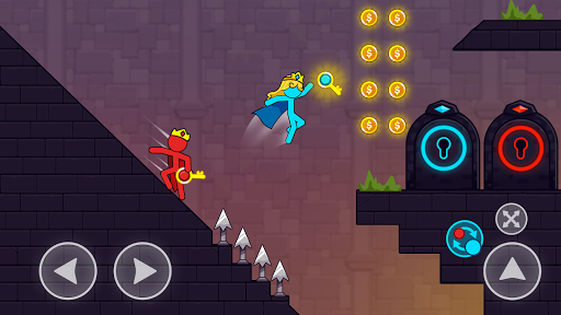 Red And Blue Stickman android2mod screenshots 3