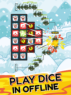 Offline Dice: Random Rush Royale 10