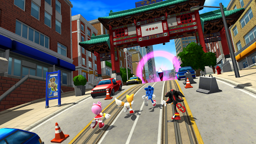 Sonic Forces u2013 Multiplayer Racing & Battle Game 3.8.2 screenshots 8