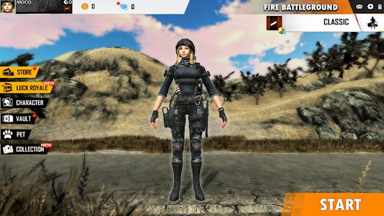 Fire Free Battleground Survival Hopeless Squad  screenshots 1