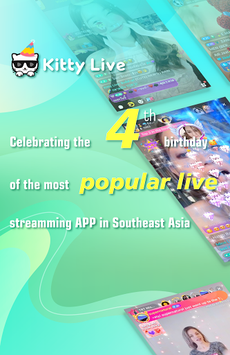 Kitty Live- Live Streaming Chat & Live Video Chat 3.6.2.0 screenshots 1