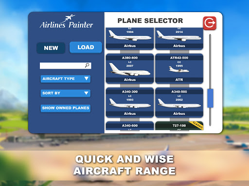 Airlines Painter modavailable screenshots 7
