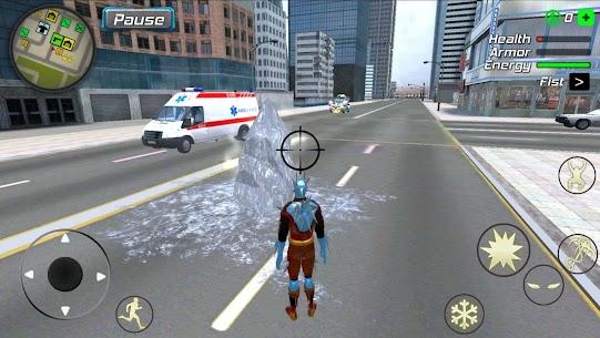 Snow Storm Superhero MOD (Unlimited Money) 2