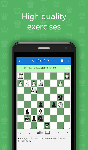 Mate in 3-4 (Chess Puzzles)  screenshots 1