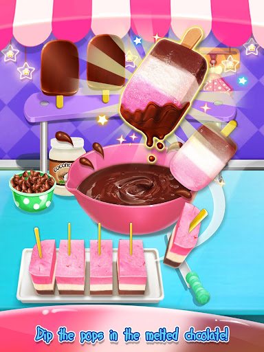 Ice Cream Pop Salon - Icy Desserts Maker 1.4 screenshots 2