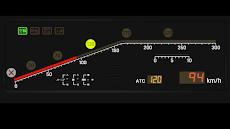 新幹線っぽい速度計のおすすめ画像4