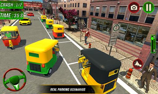 Tuk Tuk Auto Rickshaw Driver 2019:City Parking 1.5 screenshots 10
