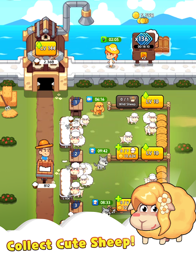 Sheep Farm : Idle Games & Tycoon screenshots 18