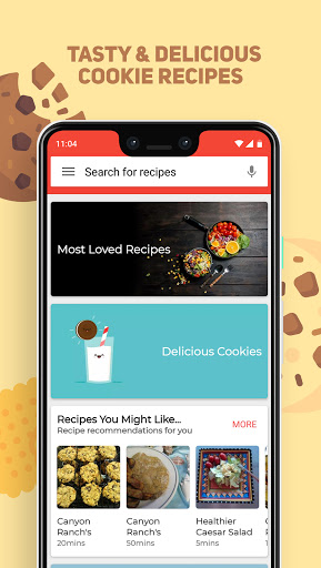 Cookies And Brownies Recipes  Screenshots 1