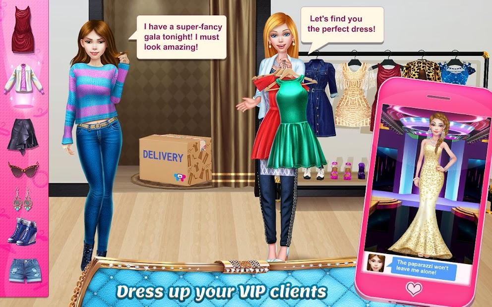 Stylist Girl - Make Me Gorgeous! screenshot 10