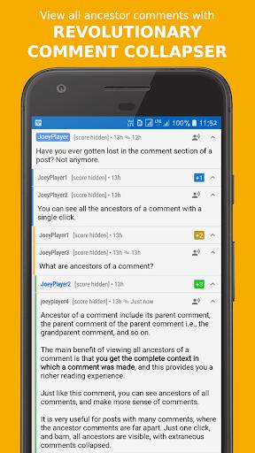 Joey for Reddit screenshots 5