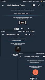 ElectroCalc Mod Apk- DIY Electronics Calculator (Pro Unlocked) 3