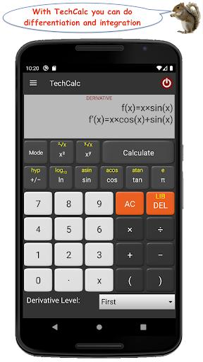 TechCalc Scientific Calculator apktram screenshots 7