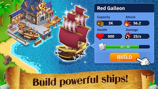 Idle Pirate Tycoon MOD APK 1.5.3 (Unlimited Money) 4