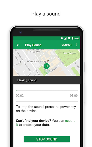 Google Find My Device 2.4.035 screenshots 2