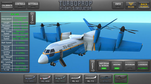 Turboprop Flight Simulator 3D 1.24 screenshots 1
