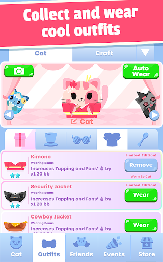 Greedy Cats: Kitty Clicker 1.4.0 screenshots 15