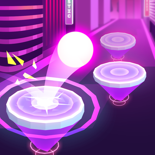 Hop Ball 3D: Dancing Ball on Music Tiles Road