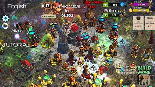 ☣️ Clash Of Orcs ⛺️ City Building Defense War TD 3.42 screenshots 1