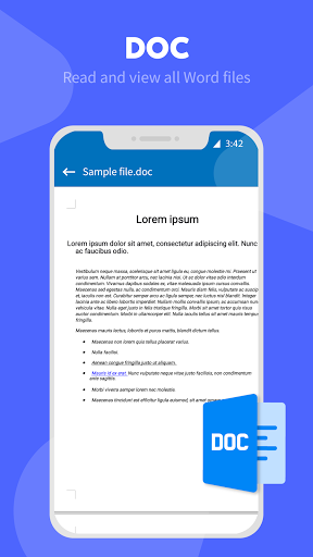 All Document Reader: PDF, excel, word, Documents android2mod screenshots 3