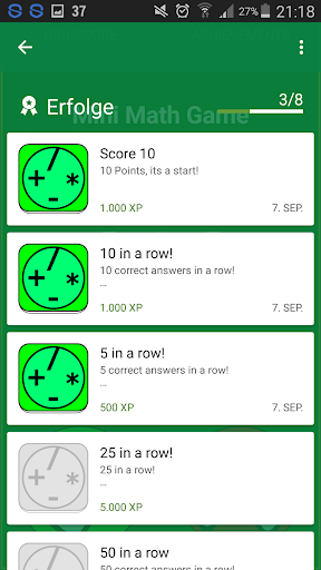 Speed mental math Game ud83cudfb2 android2mod screenshots 3