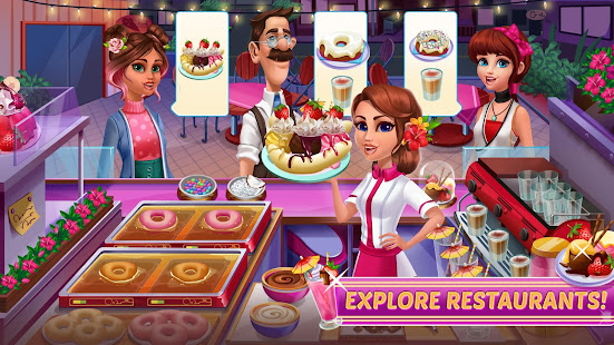 Cooking Games for Girls - Craze Food Kitchen Chef 1.03 Screenshots 4