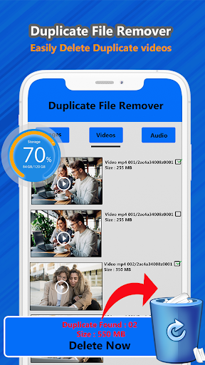 Duplicate file remover & all Media cleaner 1.2 screenshots 3