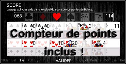 free french belote & coinche - 30 days challenge screenshot 3
