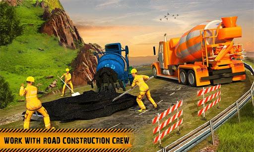 Hill Road Construction Games: Dumper Truck Driving  screenshots 1
