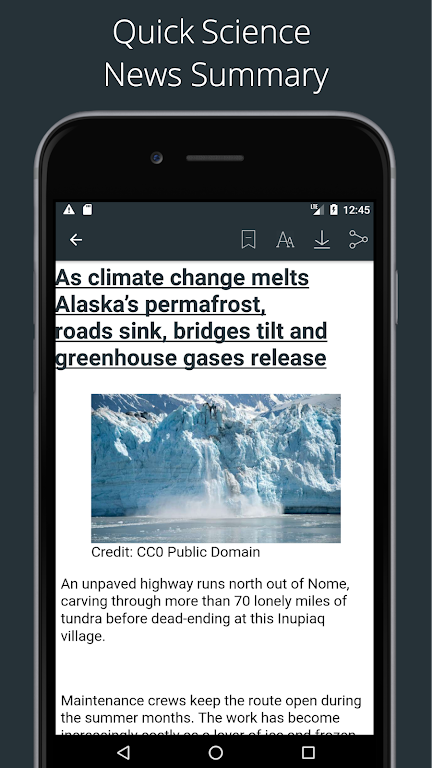 Science News Daily: Science Articles and News App  poster 3