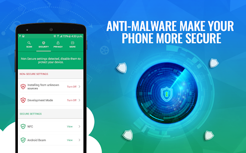 Systweak Anti-Malware - Free Mobile Phone Security Screenshot