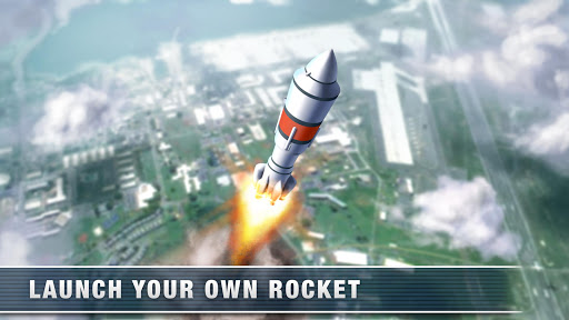 Rocket Simulator Flight 3D: Earth spaceship  screenshots 1