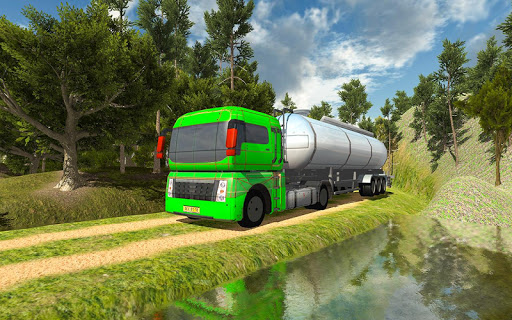 Cargo Oil Tanker Simulator - Offroad Truck Racing 1.5 screenshots 2