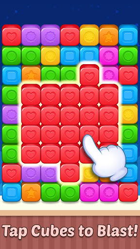 toy crash cube blast : block blasting game screenshot 2