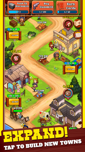 Idle Frontier: Tap Town Tycoon 1.066 screenshots 2